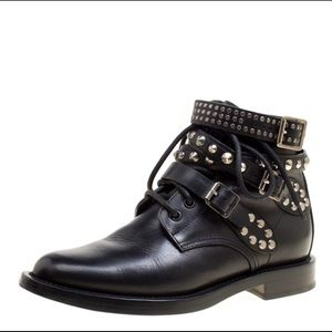 Saint Laurent Paris Rangers ankle boots